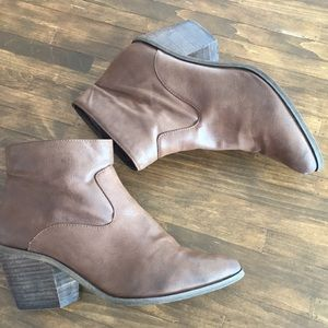 vegan leather ankle boot by ecoté Urban Outfitters